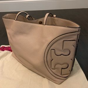 Tory Burch Blush Leather Tote